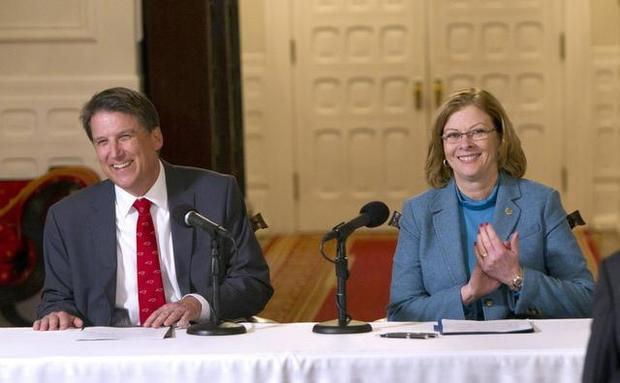 Dix Park Press Conference- Gov. McCrory & Mayor McFarlane